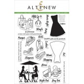 Набор штампов Altenew LADIES' DAY OUT