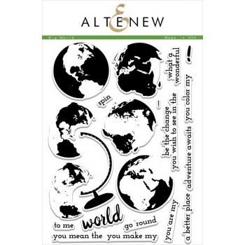Набор штампов Altenew BIG WORLD