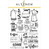 Набор штампов Altenew COFFEE LOVE