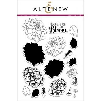 Набор штампов Altenew DAHLIA BLOSSOMS