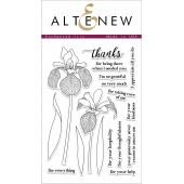 Набор штампов Altenew ENCHANTED IRIS