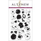 Набор штампов Altenew PAINTED FLOWERS