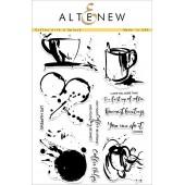 Набор штампов Altenew COFFEE WITH A SPLASH