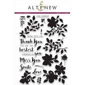 Набор штампов Altenew FLORAL SHADOW