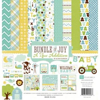 Набор бумаги для скрапбукинга Echo Park BUNDLE OF JOY 2 BOY 30х30см