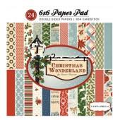 Набор бумаги для скрапбукинга Carta Bella CHRISTMAS WONDERLAND 15х15см