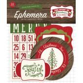 Набор высечек для украшения Echo Park THE STORY OF CHRISTMAS
