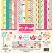 Набор бумаги для скрапбукинга Echo Park PETTICOATS (девочки) 30х30см