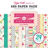 Набор бумаги для скрапбукинга Echo Park PETTICOATS (девочки) 15х15см