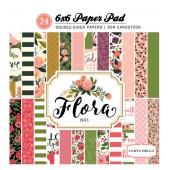 Набор бумаги для скрапбукинга Carta Bella FLORA No.1 15х15см