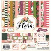 Набор бумаги для скрапбукинга Carta Bella FLORA No.1 30х30см