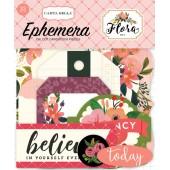 Набор высечек для украшения Carta Bella FLORA No.1