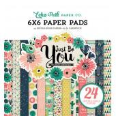 Набор бумаги для скрапбукинга Echo Park JUST BE YOU 15х15см