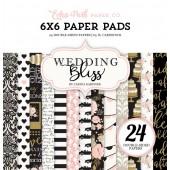 Набор бумаги для скрапбукинга Echo Park WEDDING BLISS 15х15см