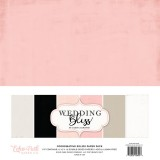 Набор однотонной бумаги для скрапбукинга Echo Park WEDDING BLISS 30х30см
