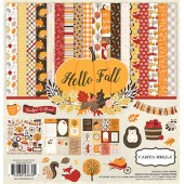 Набор бумаги для скрапбукинга Carta Bella HELLO FALL 30х30см