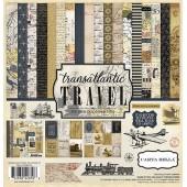 Набор бумаги для скрапбукинга Carta Bella TRANSATLANTIC TRAVEL 30х30см