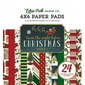 Набор бумаги для скрапбукинга Echo Park TWAS THE NIGHT BEFORE CHRISTMAS VOL.1 15х15см