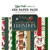 Набор бумаги для скрапбукинга Echo Park TWAS THE NIGHT BEFORE CHRISTMAS VOL.2 15х15см