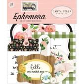 Набор высечек для украшения Carta Bella SPRING MARKET
