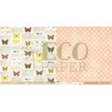 Лист бумаги для скрапбукинга EcoPaper ОПРЕДЕЛИТЕЛЬ коллекция Атлас Бабочек 30х30см