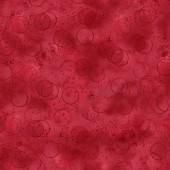 Ткань лоскутная THE TRAVELLER красная 50х55см