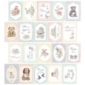 Набор карточек для скрапбукинга Фабрика Декора BABY SHABBY картинки 1