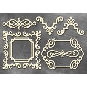 Набор чипбордов Фабрика Декора РАМКИ 1