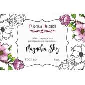 Набор открыток для раскрашивания маркерами Фабрика Декора MAGNOLIA SKY