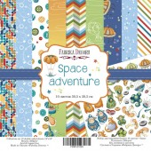 Набор бумаги для скрапбукинга Фабрика Декора SPACE ADVENTURE 30х30см