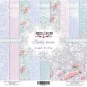 Набор бумаги для скрапбукинга Фабрика Декора SHABBY DREAMS 20х20см