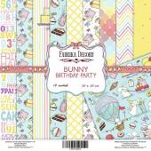 Набор бумаги для скрапбукинга Фабрика Декора BUNNY BIRTHDAY PARTY 20х20см