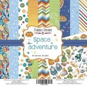 Набор бумаги для скрапбукинга Фабрика Декора SPACE ADVENTURE 20х20см