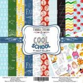 Набор бумаги для скрапбукинга Фабрика Декора COOL SCHOOL 20х20см