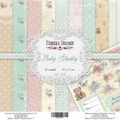Набор бумаги для скрапбукинга Фабрика Декора BABY SHABBY 15х15см