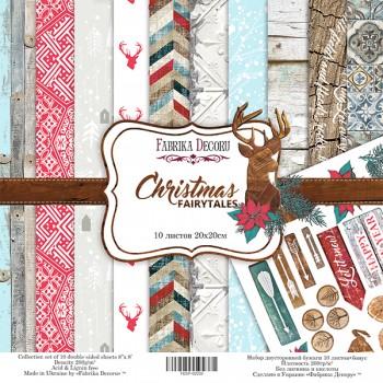 Набор бумаги для скрапбукинга Фабрика Декора CHRISTMAS FAIRYTALES 20х20см