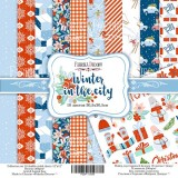 Набор бумаги для скрапбукинга Фабрика Декора WINTER IN THE CITY 30х30см