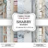 Набор бумаги для скрапбукинга Фабрика Декора SHABBY TEXTURE 30х30см