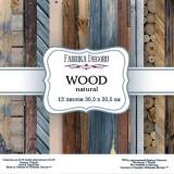 Набор бумаги для скрапбукинга Фабрика Декора WOOD NATURAL 30х30см