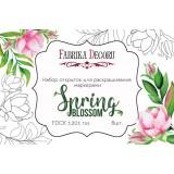 Набор открыток для раскрашивания маркерами Фабрика Декора SPRING BLOSSOM