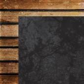 Лист бумаги для скрапбукинга Kaisercraft CHALKBOARD коллекция Documented 30х30см