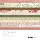 Набор бумаги для скрапбукинга Kaisercraft MADEMOISELLE 15х15см