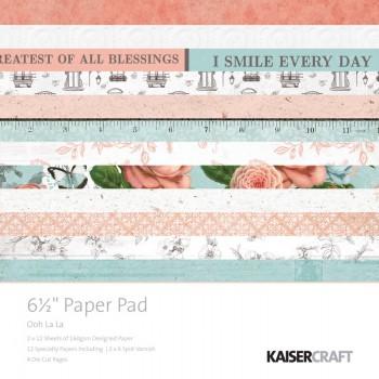 Набор бумаги для скрапбукинга Kaisercraft OOH LA LA 15х15см