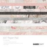 Набор бумаги для скрапбукинга Kaisercraft P.S. I LOVE YOU 15х15см