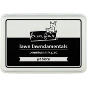 Чернильная подушечка Lawn Fawn JET BLACK черный
