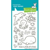 Набор штампов Lawn Fawn CRITTERS IN THE SEA