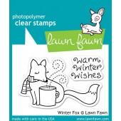 Набор штампов Lawn Fawn WINTER FOX