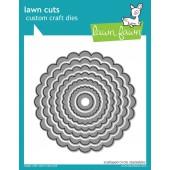 Набор ножей для вырубки Lawn Fawn SCALLOPED CIRCLE STACKABLES