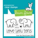 Набор штампов Lawn Fawn LOVE YOU TONS