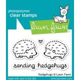 Набор штампов Lawn Fawn HEDGEHUGS